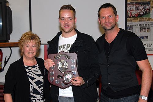 Royce Rolls Away With Five Awards News Gresley Fc Online